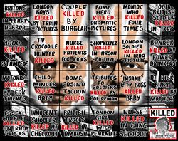 Gilbert & George « Killed », A London Picture 2011
