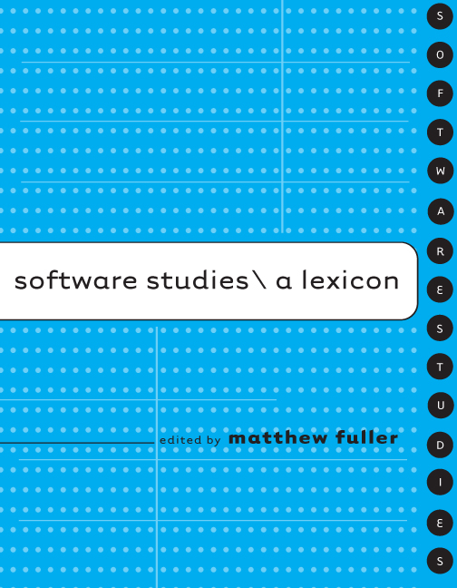 Software studies: A lexicon