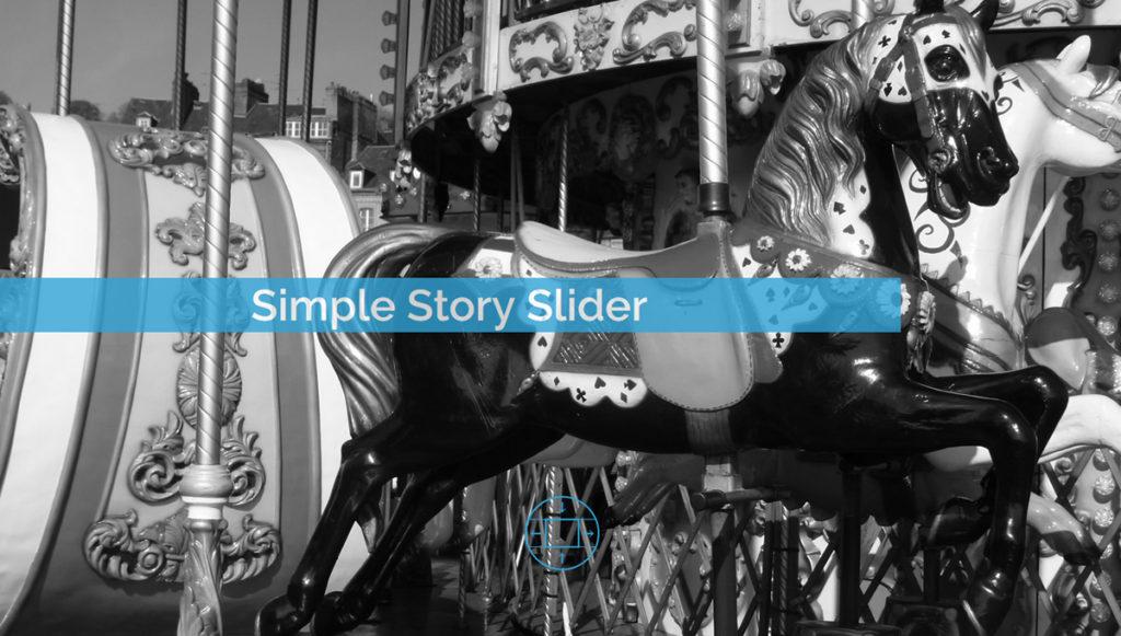 Simple Story Slider