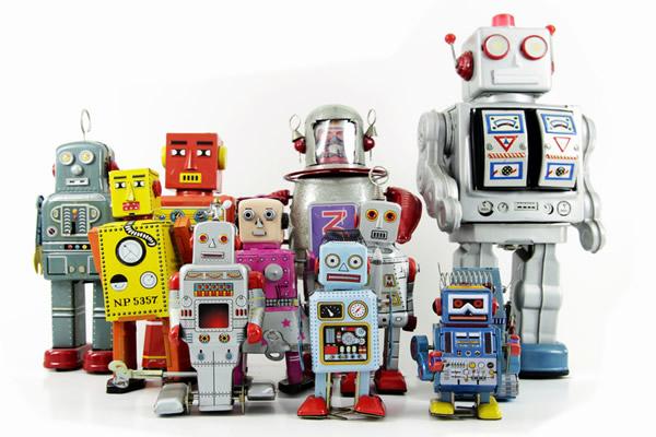 Robots.Crédit : CanStockPhoto