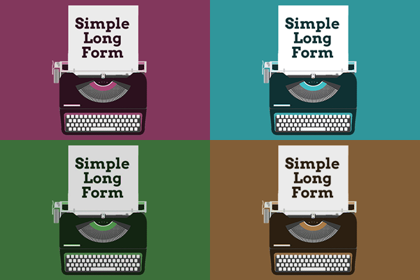 Simple Long Form